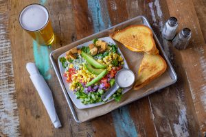 OLD SCHOOL GRILLED CHEESE & ½ SALAD